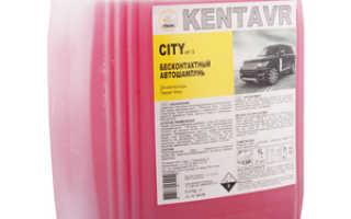 Тест шампуней для бесконтактной мойки автомобилей