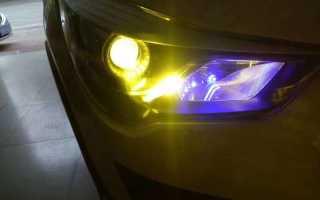 Светодиодные лампы в приору ближний свет