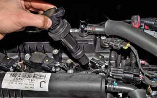 При прогреве двигатель работает с перебоями