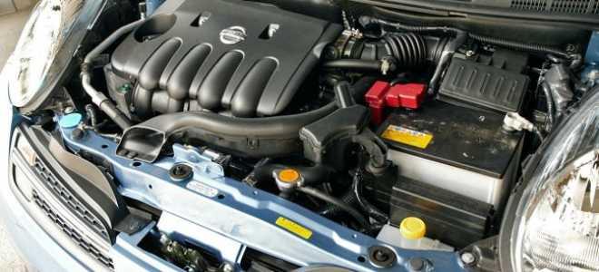 Двигатель hr16de технические характеристики