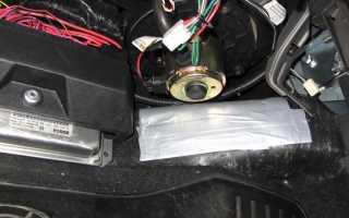 Нива шевроле перестал работать моторчик печки отопителя