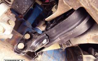 Подушки двигателя ваз 2114 8 клапанов расположение