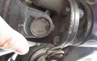 Вибрация кардана ваз 2107 как устранить