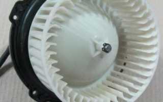Замена вентилятора отопителя лада калина