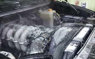 Как отмыть двигатель снаружи