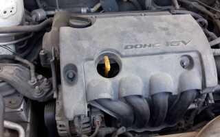 Почему дизелит двигатель 11183