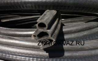 Уплотнители для дверей автомобиля ваз 2107