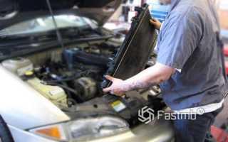 От какого авто подходит радиатор охлаждения
