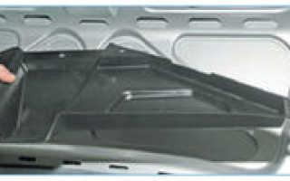 Привод замка багажника приора