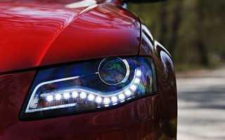 Маркировка светодиодных фар автомобиля