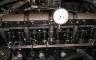 Распорядок регулировки клапанов ваз 2106