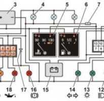 Схема щитка приборов ваз 21214 инжектор