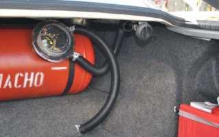 Схема газового оборудования автомобиля 4 поколения