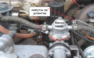 Установка бензонасоса ваз 2109 инжектор
