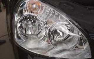 Как поменять лампочку в противотуманки на приоре