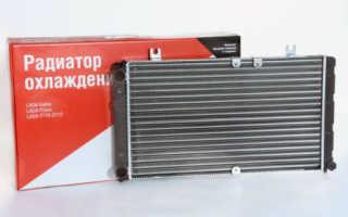 Радиатор охлаждения двигателя калина 1118 цена