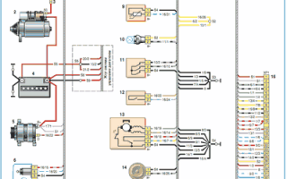 Схема электропроводки нива шевроле