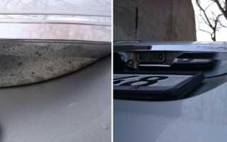 Ремонт хромированных деталей автомобиля