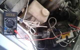 Приора не горит лампочка зарядки аккумулятора
