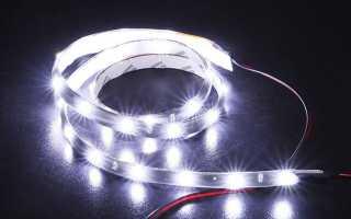 Светодиодные ленты для автомобиля своими руками