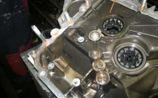 Моторное масло в кпп ваз 2110
