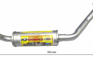 Резонатор ваз 21074 инжектор цена