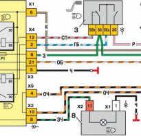 Схема подключения поворотников ваз 2114