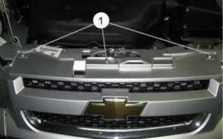 Снятие заднего бампера шевроле нива бертоне